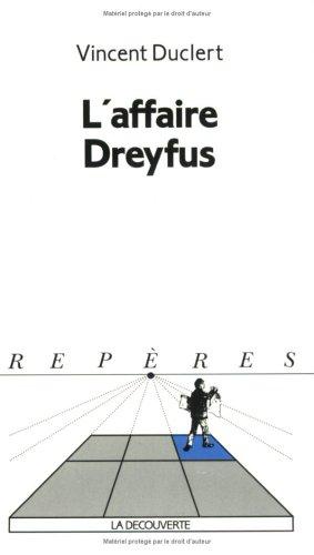 9782707123022: L'affaire Dreyfus