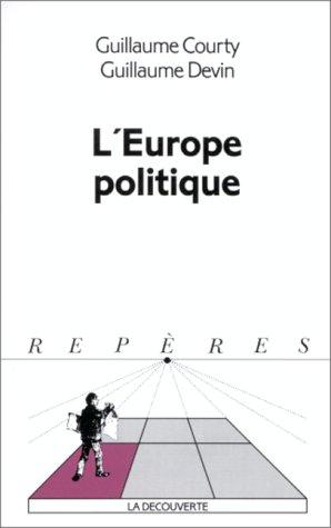 9782707125477: L'Europe politique