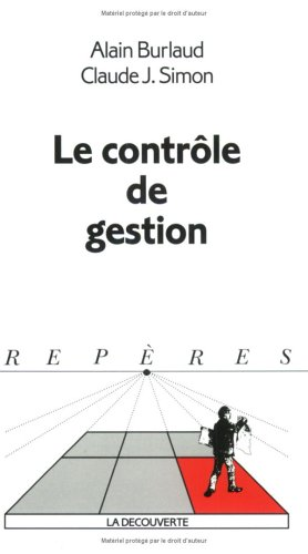 Rep?res, num?ro 227 : Contr?le de gestion: Simon