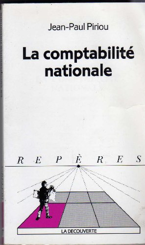 9782707127754: La comptabilité nationale