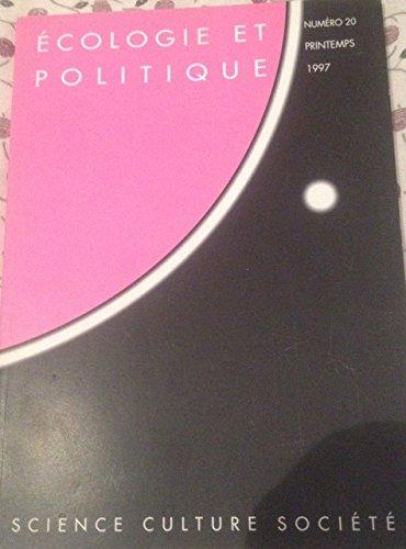 9782707127778: Revue écologie politique, numéro 20