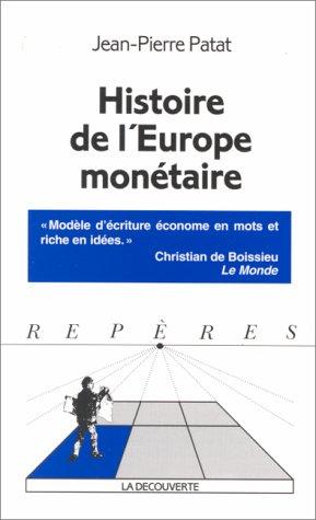 9782707128881: Histoire de l'Europe mon�taire