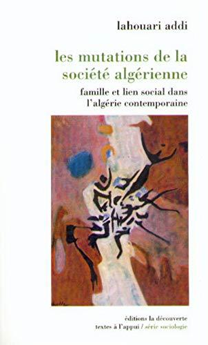 9782707130334: Les mutations de la soci�t� alg�rienne
