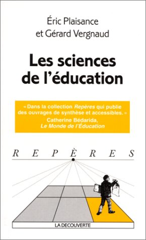 9782707131249: Les Sciences de l'�ducation