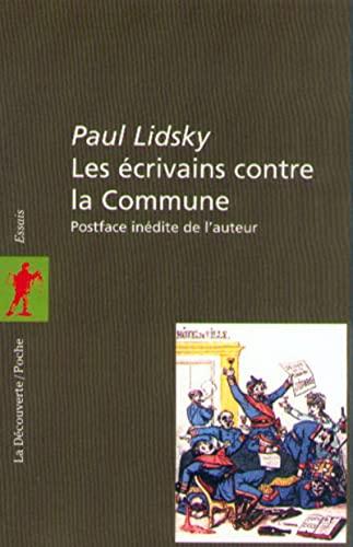 9782707131447: Les écrivains contre la Commune