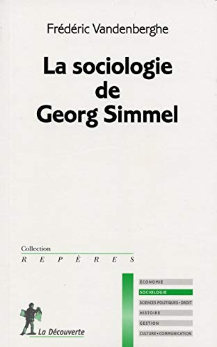 9782707133076: Sociologie de Georg Simmel