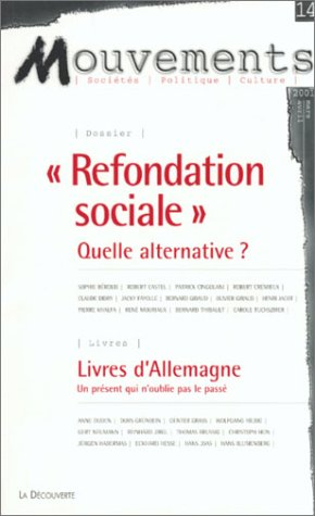 Mouvements N°14 - Refondation Sociale Quelle Alternative ?