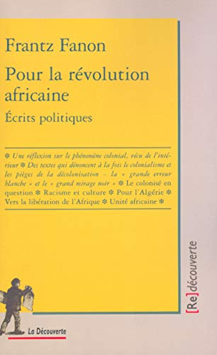 Pour la révolution africaine: Fanon, Frantz