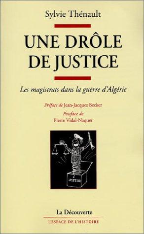 9782707134592: Une drôle de justice