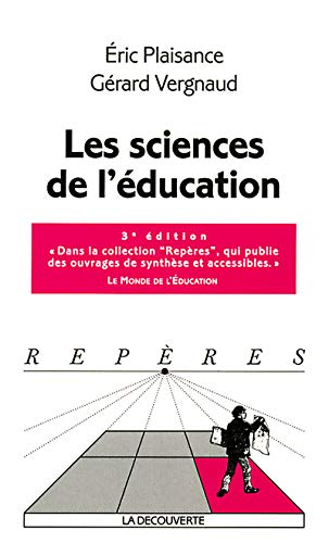 9782707135520: Les Sciences de l'éducation
