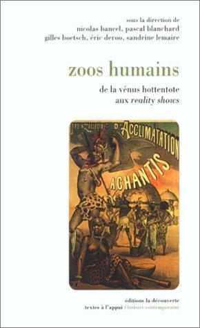 9782707136381: Zoos humains