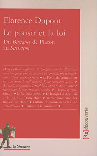 9782707136879: Le plaisir et la loi