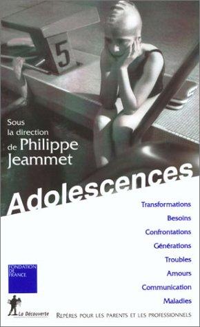 9782707137876: Adolescences : Repères pour les parents et les professionnels