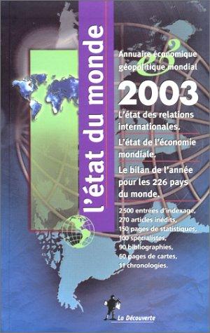 L'Etat du monde 2003: Collectif