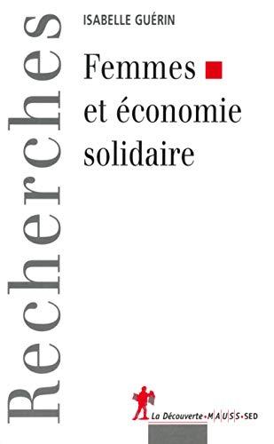 9782707139412: Femmes et économie solidaire (Recherches)