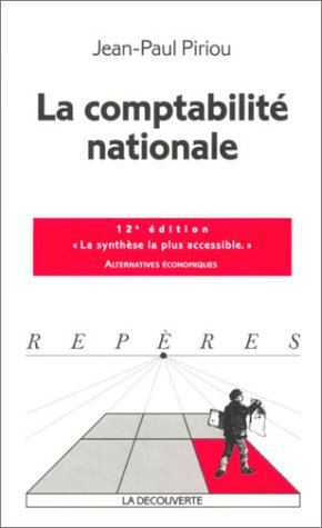 9782707139429: Comptabilité Nationale