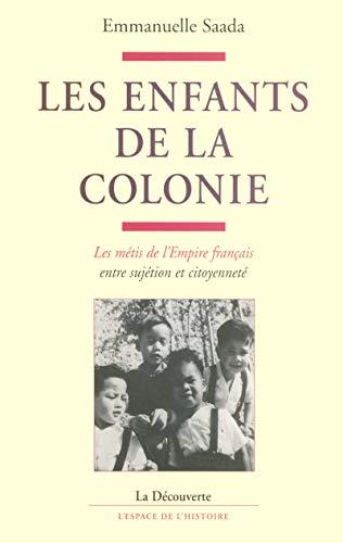 9782707139825: Les enfants de la colonie