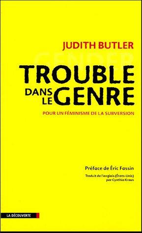 9782707142375: Trouble dans le genre (Gender Trouble) : Pour un féminisme de la subversion