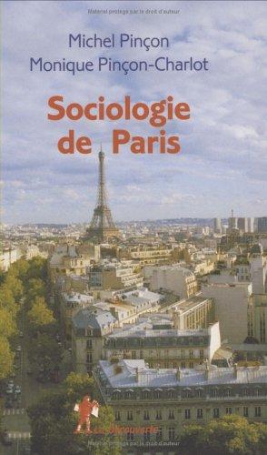 9782707142801: Sociologie de Paris