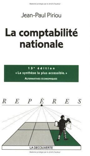 9782707143365: La comptabilité nationale