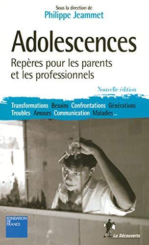 ADOLESCENCES: Philippe Pr Jeammet,