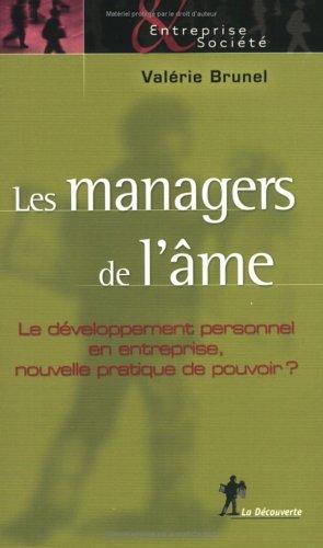 9782707143860: Les managers de l'âme