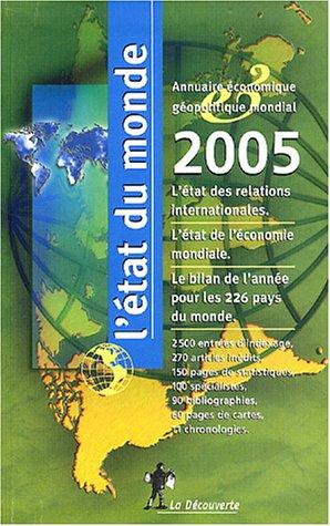 9782707143945: L'Etat du monde : Annuaire économique géopolitique mondial