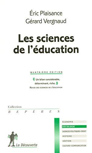 9782707145994: les sciences de l'education