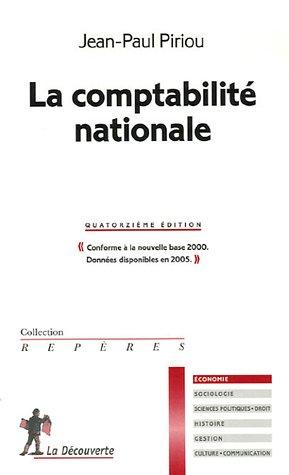 9782707148391: La comptabilité nationale