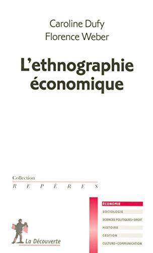 9782707149176: L'ethnographie �conomique
