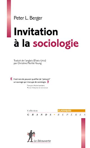9782707149237: invitation à la sociologie