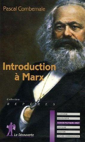 9782707149572: Introduction � Marx