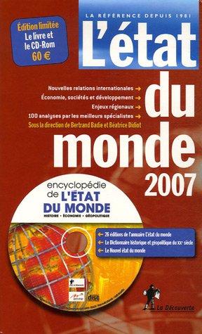 9782707149947: L'Etat du monde : Annuaire économique géopolitique mondial (1Cédérom)