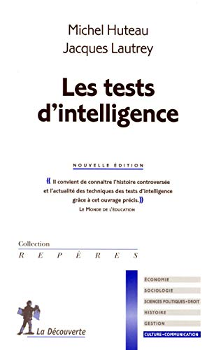 Les tests d'intelligence - N°229: Huteau, Michel
