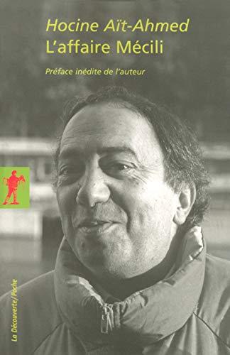 9782707151346: L'affaire Mécili (French Edition)