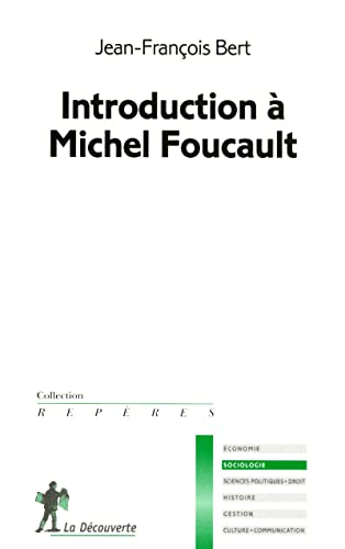 9782707155856: Introduction à Michel Foucault