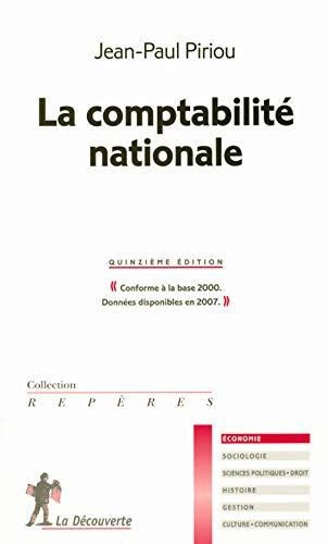 9782707156600: LA COMPTABILITE NATIONALE