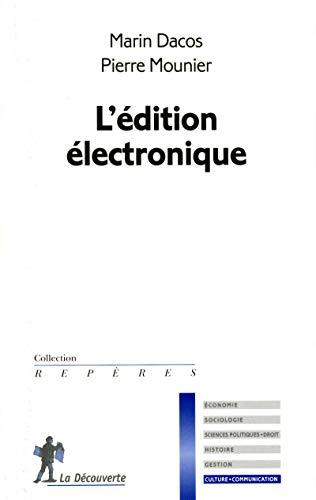 9782707157294: L'�dition �lectronique