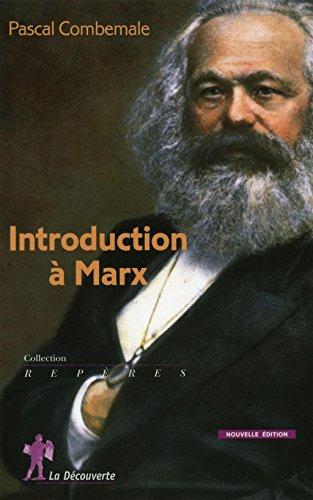 9782707161062: introduction à Marx