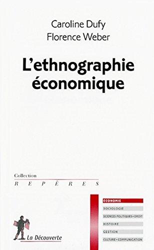9782707163035: l'ethnographie économique