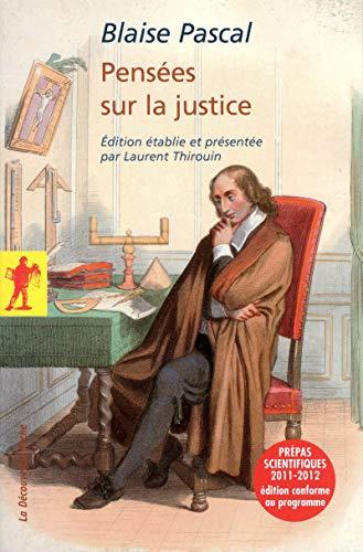 9782707170002: Pens�es sur la justice
