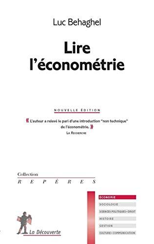 9782707173119: Lire l'économétrie