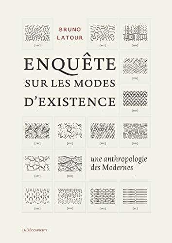 9782707173478: Enqu�te sur les modes d'existence : Une anthropologie des Modernes