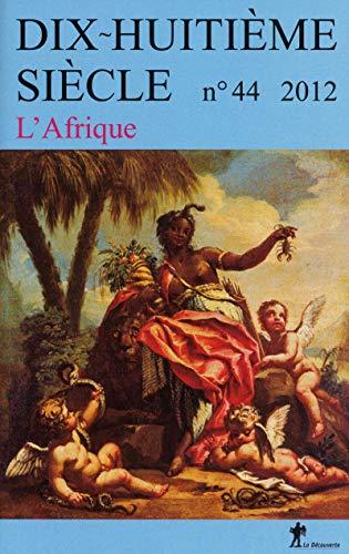 dhs 2012 n0 44 : l'afrique: Marcel Dorigny