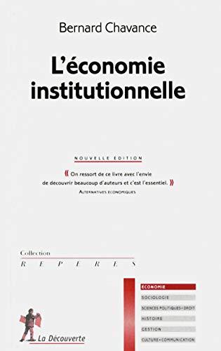9782707174789: L'économie institutionnelle