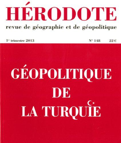 9782707175694: Hérodote, N° 148, 1e trimestre : Géopolitique de la Turquie
