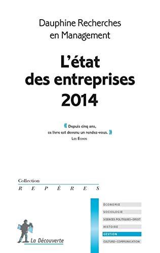 9782707177636: L' état des entreprises (édition 2014)