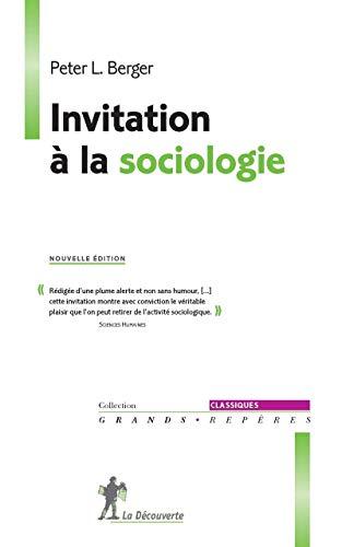 9782707182616: Invitation à la sociologie