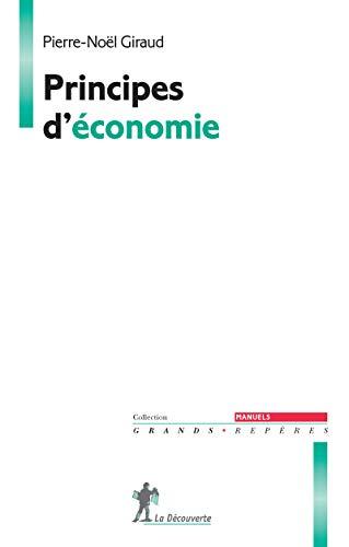 9782707182944: Principes d'économie (Grands Repères. Manuels)