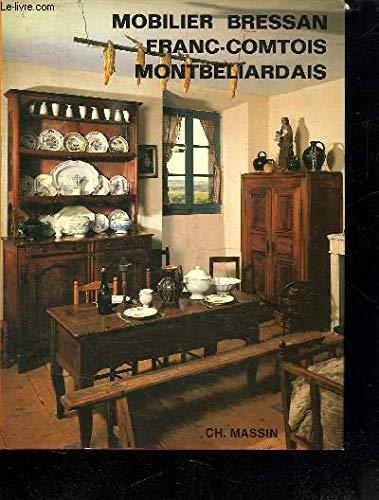 9782707200310: Mobilier bressan, franc-comtois et de Montbéliard